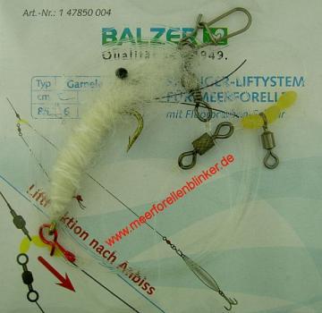 Balzer Springer-Liftsystem Garnele weiss